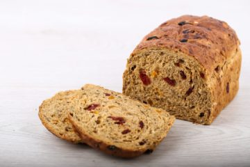 Multiseed Apricot and Cranberry Loaf