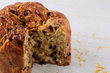 Chocolate and Orange Tear and Share Brioche