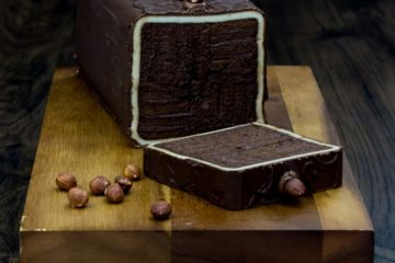 Hazel Chocolate Bar Cake