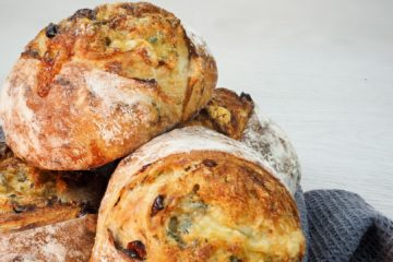 Cranberry and Stilton Boule