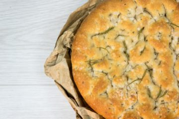 Rosemary and Rock Salt Focaccia (7% Concentrate)