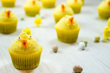 Chocolate and Mallow Easter Chicks