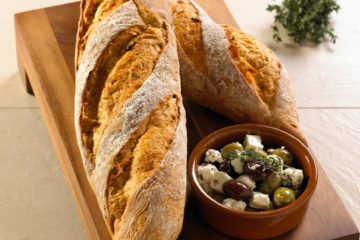 Mediterranean Artisan Baguette
